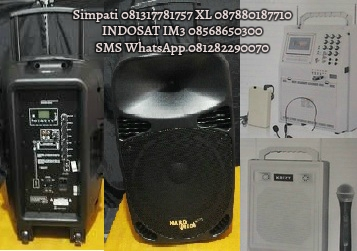sewa speaker portable wireless pa amplifier
