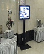 sewa standing tv plasma, rental standing lcd tv, penyewaan standing led tv,